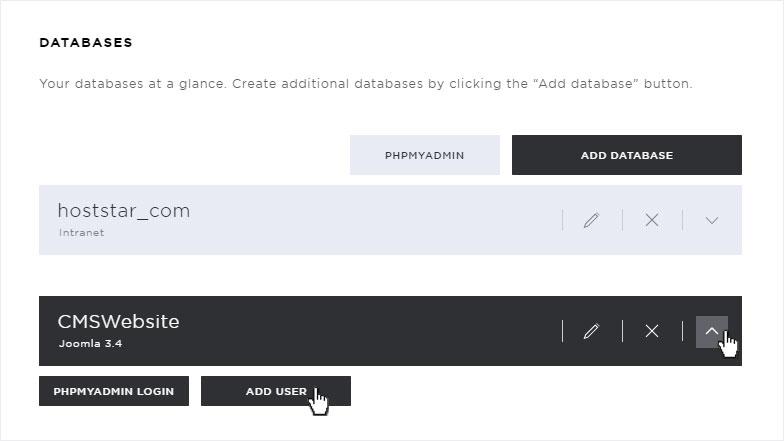 how to create an user in mysql