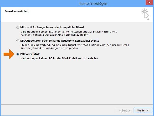 Support: WINDOWS – Outlook 2013 | Hoststar