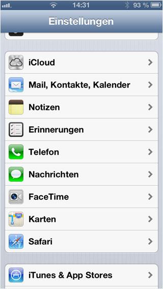 Support: APPLE – iPhone (iOS 6/7/8) | Hoststar