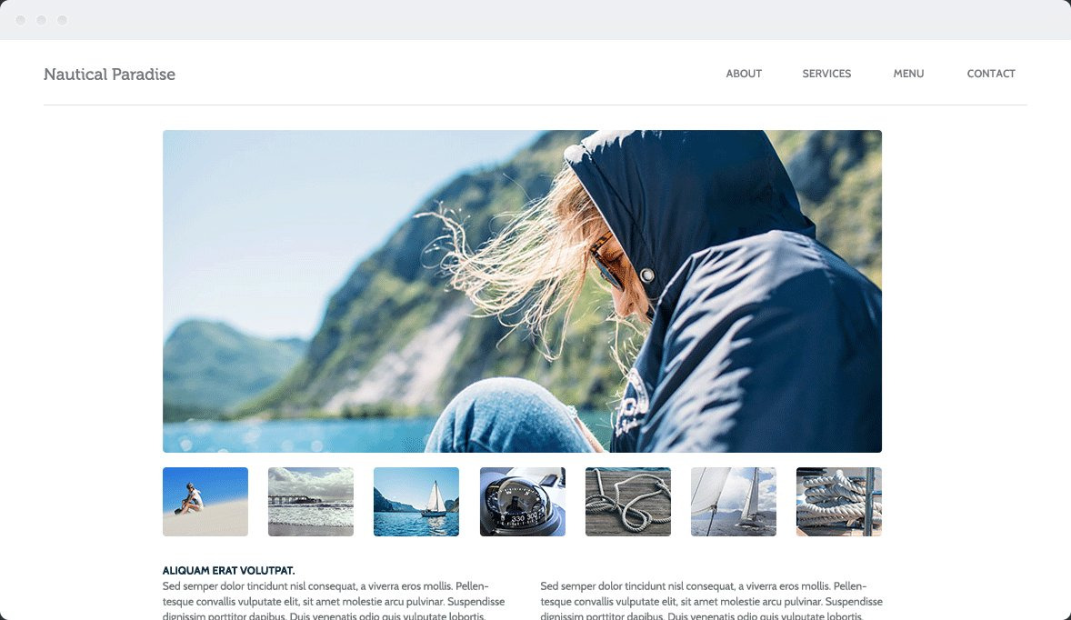 Screenshot Desktop Design Nautical 2