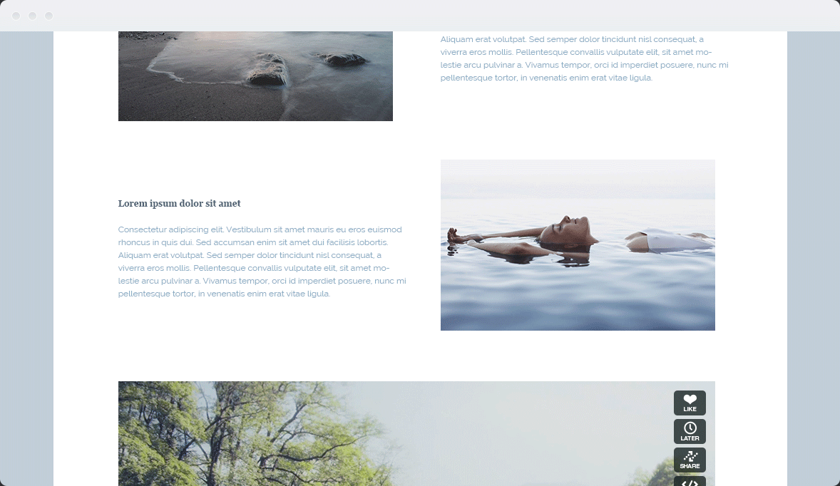 Screenshot Desktop Design Water & Wood 2