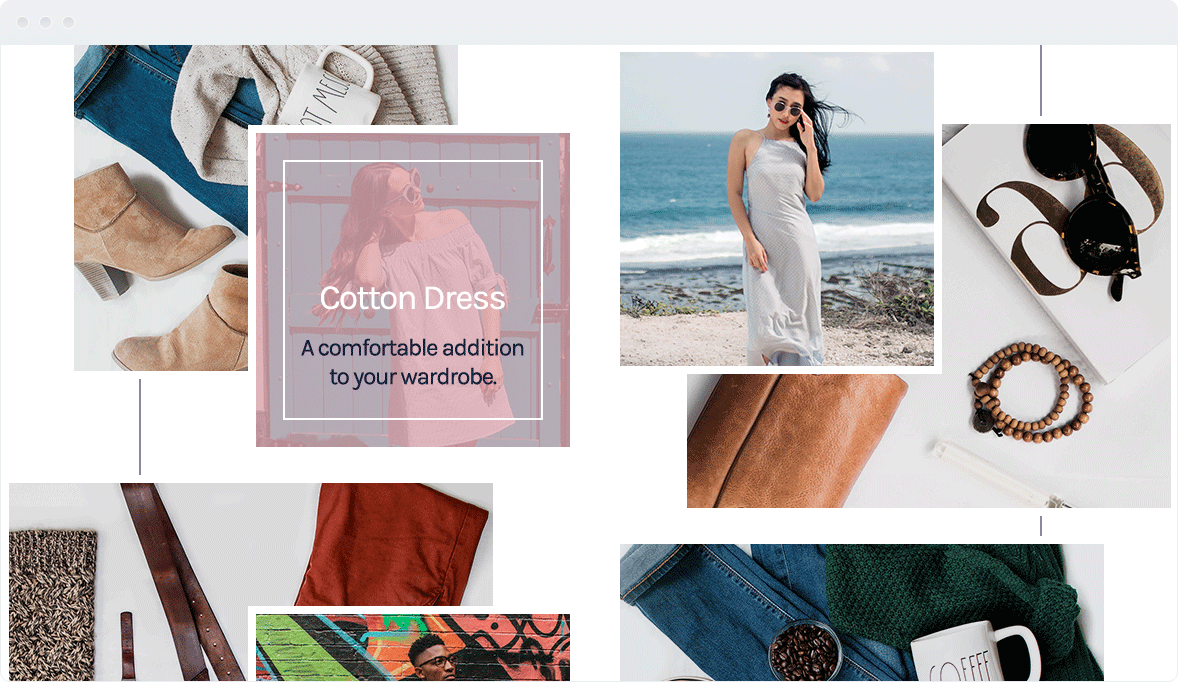 Screenshot Desktop Design LookBook 2