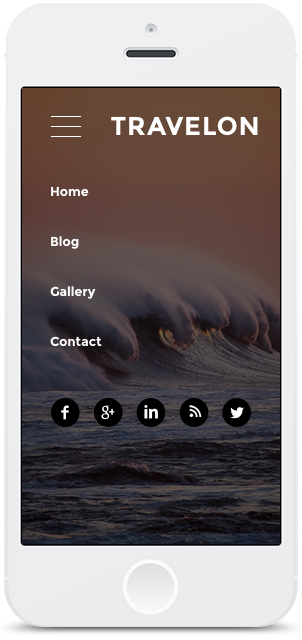 Screenshot Smartphone Design Travelon 1