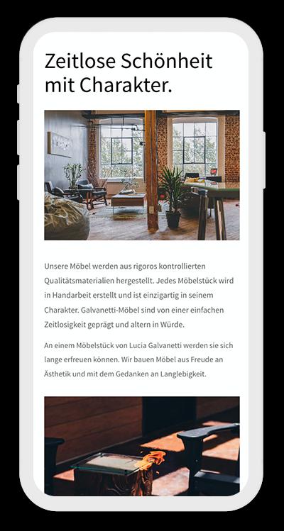 Furniture Template Mobile Screenshot 2