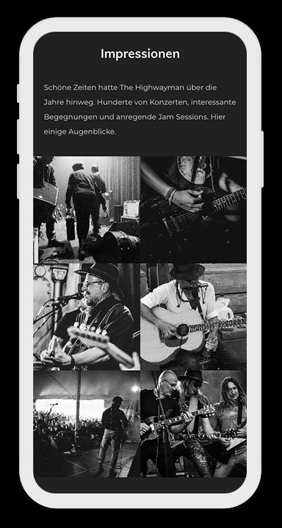 Music Template Mobile Screenshot 4