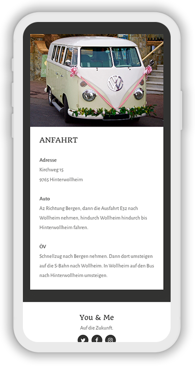 Wedding Template Mobile Screenshot 2