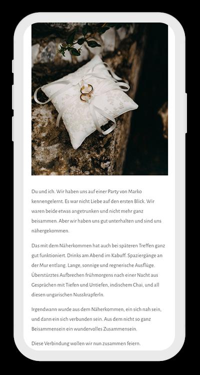Wedding Template Mobile Screenshot 3