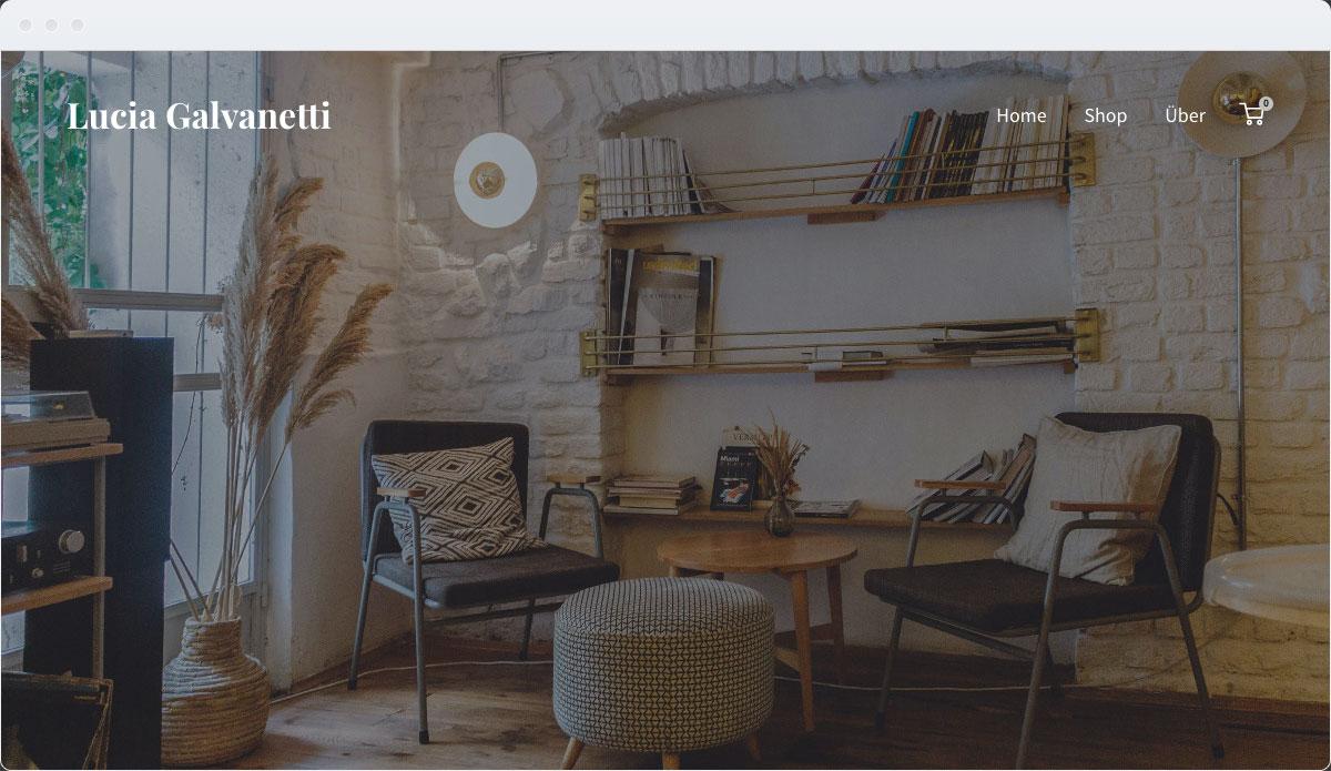 Furniture Template Desktop Screenshot 1
