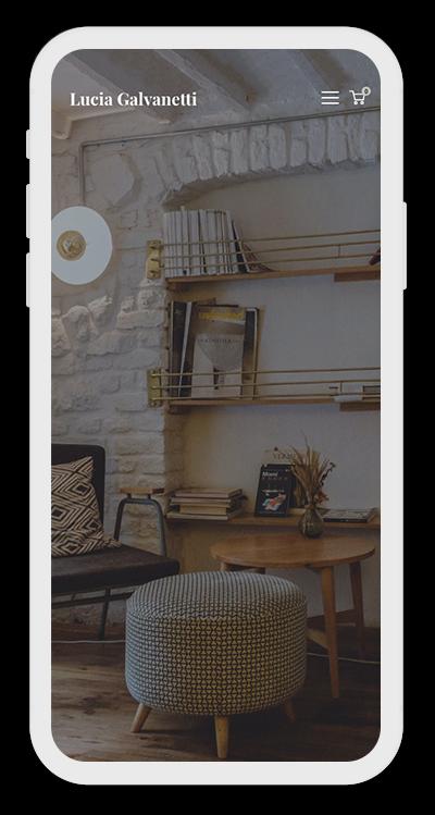 Furniture Template Mobile Screenshot 1