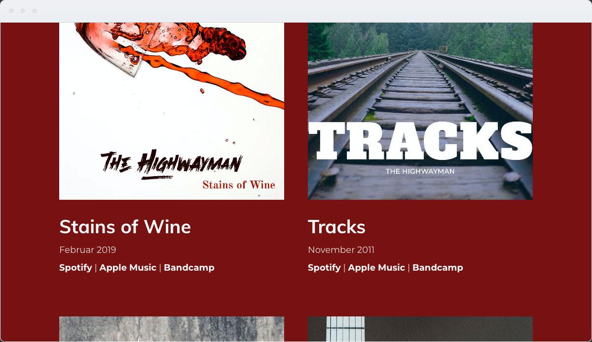 Music Template Desktop Screenshot 2