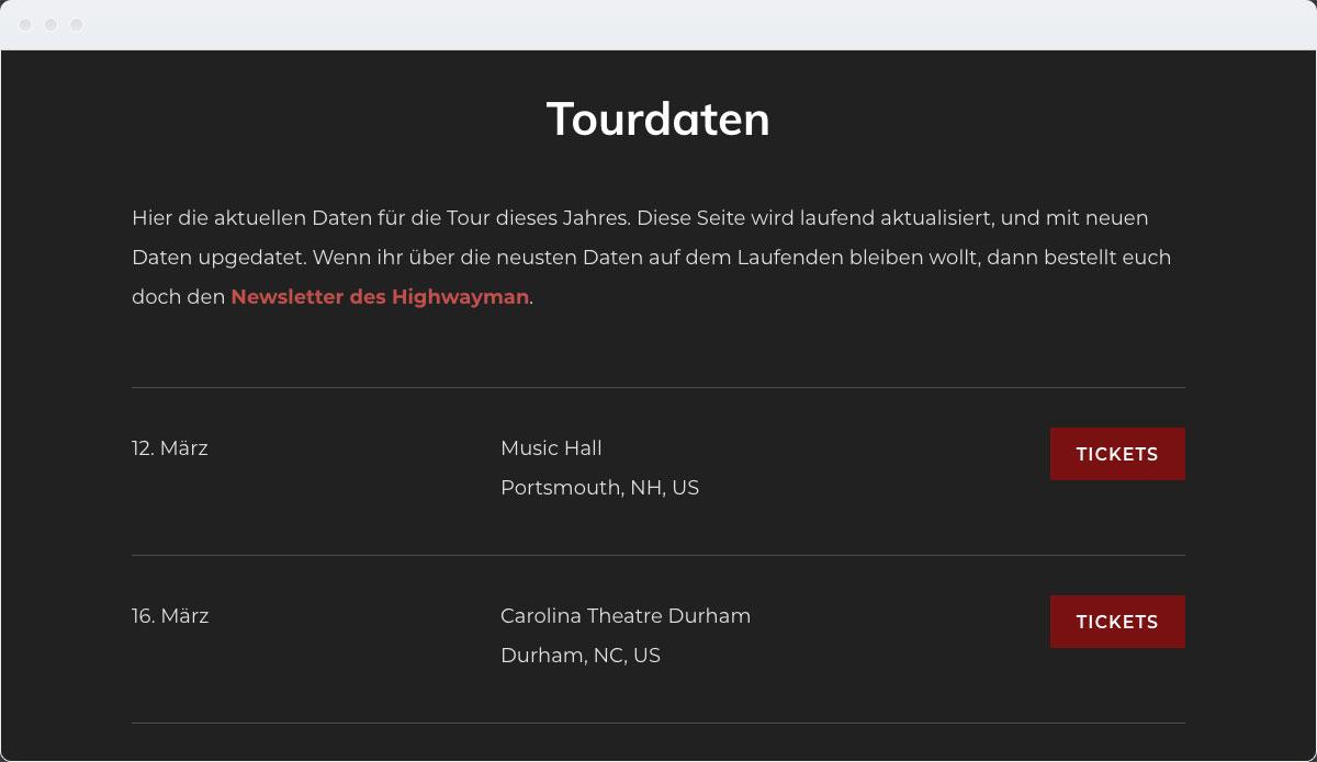 Music Template Desktop Screenshot 3