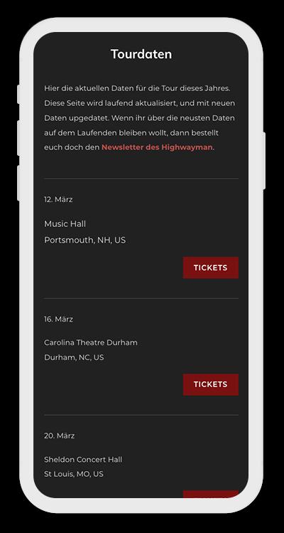 Music Template Mobile Screenshot 3