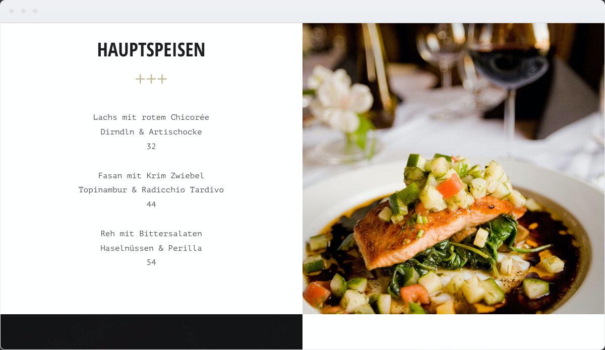 Restaurant Template Desktop Screenshot 2