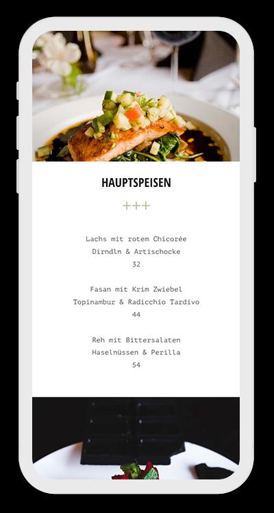 Restaurant Template Mobile Screenshot 2