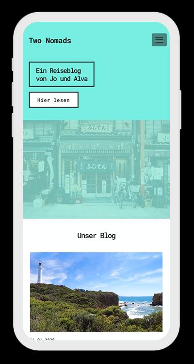 Travel Template Mobile Screenshot 1