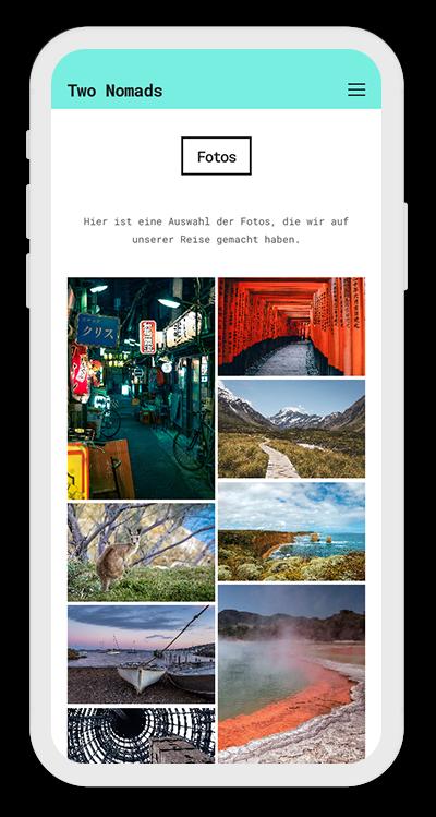 Travel Template Mobile Screenshot 3