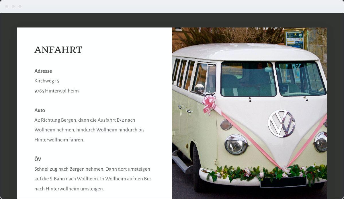 Wedding Template Desktop Screenshot 2