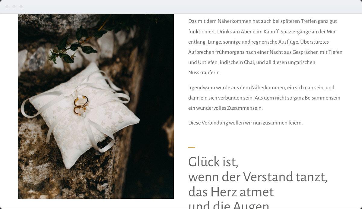 Wedding Template Desktop Screenshot 3
