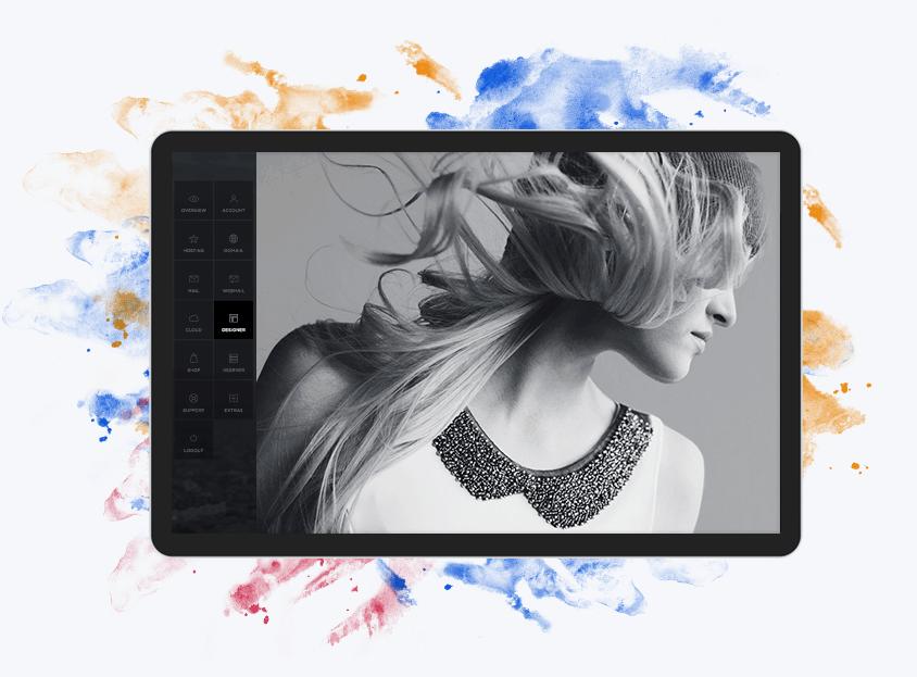 Tablet Screenshot für Designer