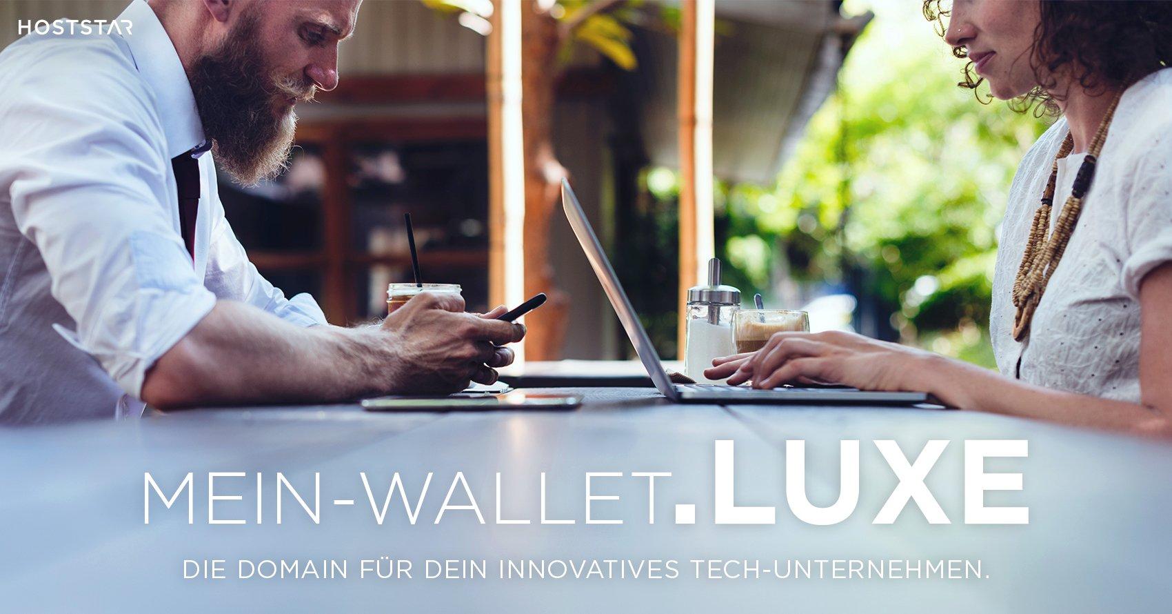 Domain .luxe für Ethereum und Blockchain Projekte.